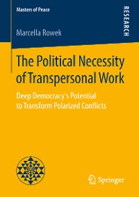 Cover The Political Necessity of Transpersonal Work