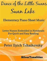 Cover Dance of the Little Swans Elementary Piano Sheet Music