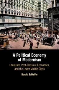 Cover Political Economy of Modernism