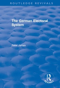 Cover German Electoral System