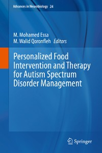 Cover Personalized Food Intervention and Therapy for Autism Spectrum Disorder Management