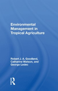 Cover Environmental Management In Tropical Agriculture