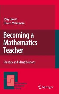 Cover Becoming a Mathematics Teacher
