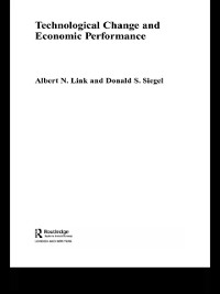 Cover Technological Change and Economic Performance