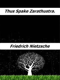 Cover Thus spake Zarathustra.