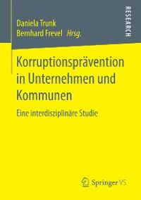 Cover Korruptionsprävention in Unternehmen und Kommunen