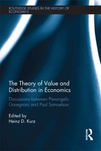 Cover Theory of Value and Distribution in Economics