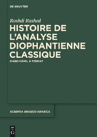 Cover Histoire de l'analyse diophantienne classique