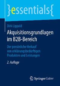Cover Akquisitionsgrundlagen im B2B-Bereich