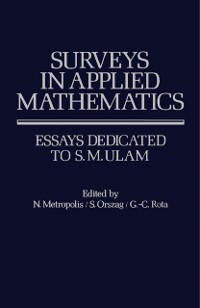 Cover Surveys in Applied Mathematics