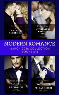 Cover Modern Romance Collection: March 2018 Books 5 - 8 (Mills & Boon e-Book Collections)