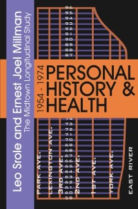 Cover Personal History and Health
