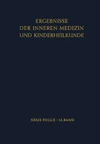 Cover Ergebnisse der Inneren Medizin und Kinderheilkunde