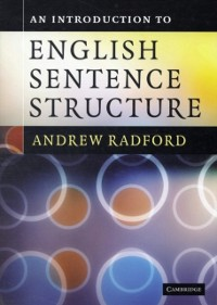 Cover Introduction to English Sentence Structure