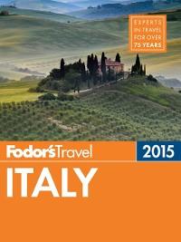 Cover Fodor's Italy 2015