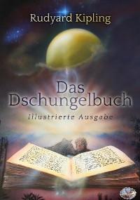 Cover Das Dschungelbuch (farbig illustriert)