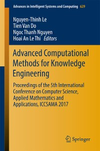 Cover Advanced Computational Methods for Knowledge Engineering