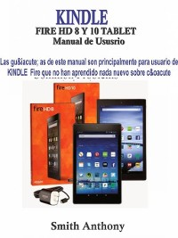 Cover KINDLE FIRE HD 8 Y 10 Manual de Ususrio