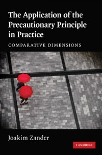 Cover Application of the Precautionary Principle in Practice