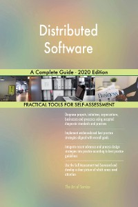 Cover Distributed Software A Complete Guide - 2020 Edition