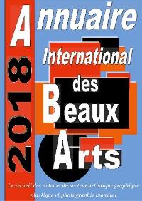 Cover Annuaire international des Beaux Arts 2018