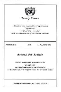 Cover Treaty Series 2583/Recueil des Traités 2583