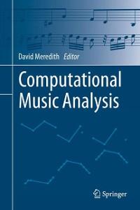 Cover Computational Music Analysis