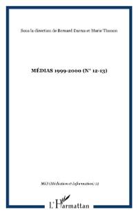 Cover MEDIAS 1999-2000 (n(deg) 12-13)