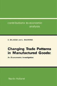 Cover Changing Trade Patterns in Manufactured Goods: An Econometric Investigation