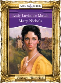 Cover Lady Lavinia's Match (Mills & Boon Historical)