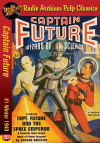 Cover Captain Future #1 The Space Emperor