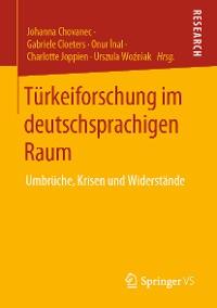 Cover Türkeiforschung im deutschsprachigen Raum