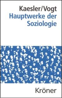 Cover Hauptwerke der Soziologie