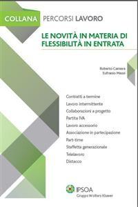 Cover Le novità in materia di flessibilità in entrata