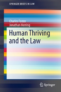 Cover Human Thriving and the Law