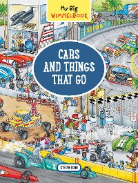 Cover My Big Wimmelbook—Cars and Things That Go
