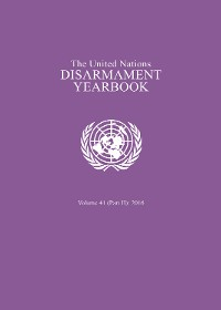 Cover United Nations Disarmament Yearbook 2016: Part II