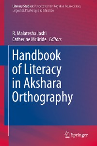 Cover Handbook of Literacy in Akshara Orthography
