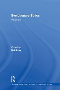 Cover Evolutionary Ethics