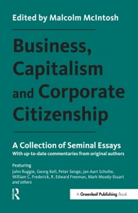 Cover Business, Capitalism and Corporate Citizenship