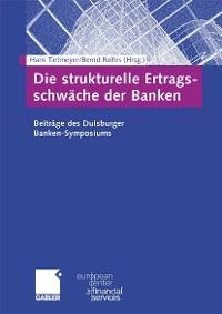 Cover Die strukturelle Ertragsschwäche der Banken