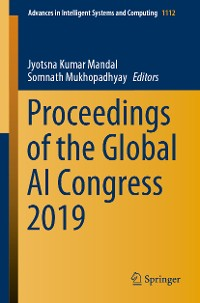 Cover Proceedings of the Global AI Congress 2019