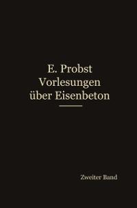 Cover Vorlesungen uber Eisenbeton