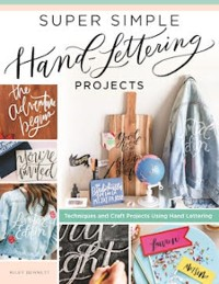 Cover Super Simple Hand-Lettering Projects