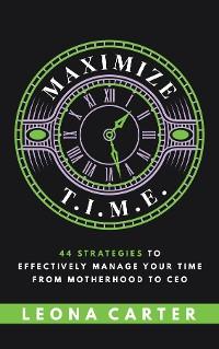 Cover Maximize T.I.M.E.