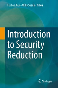 Cover Introduction to Security Reduction