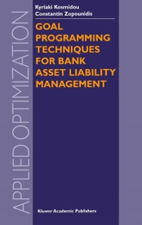 Cover Goal Programming Techniques for Bank Asset Liability Management