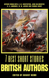 Cover 7 best short stories - British Authors