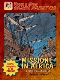 Cover Robin e Mary - Missione in Africa