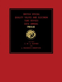 Cover British Special Quality Valves and Electron Tube Devices Data Annual 1964-65